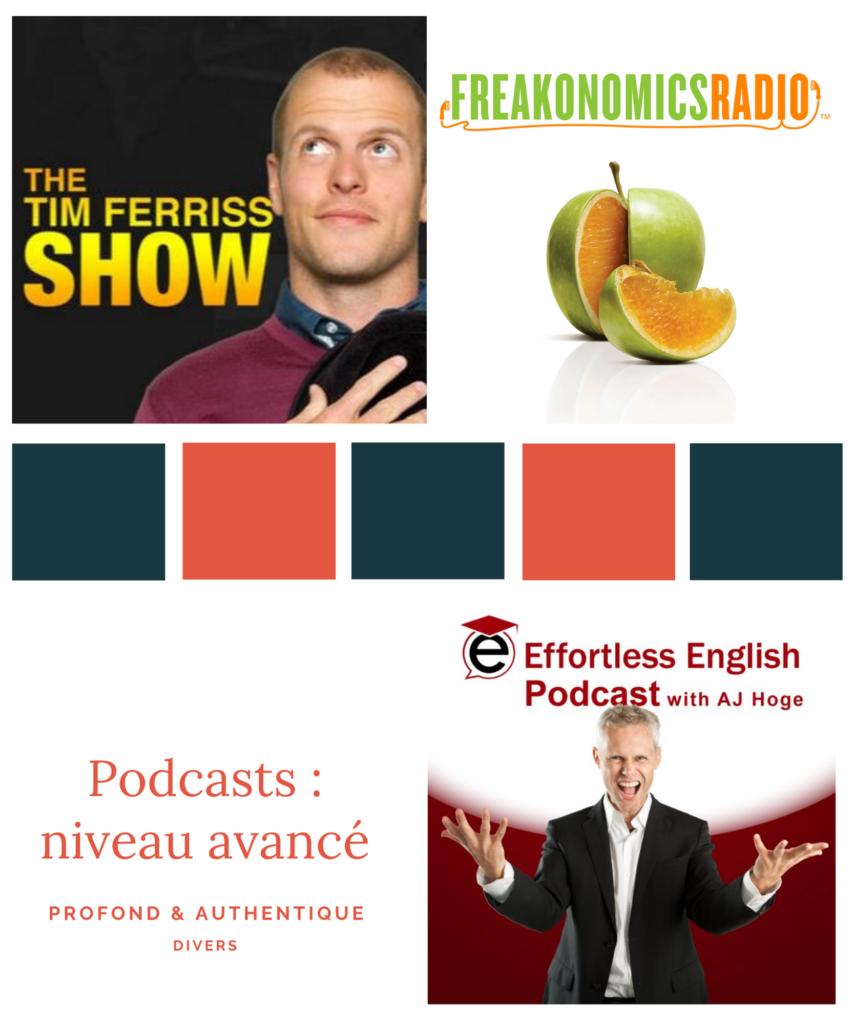 Devenir bilingue grâce à des podcasts en anglais de niveau avancé