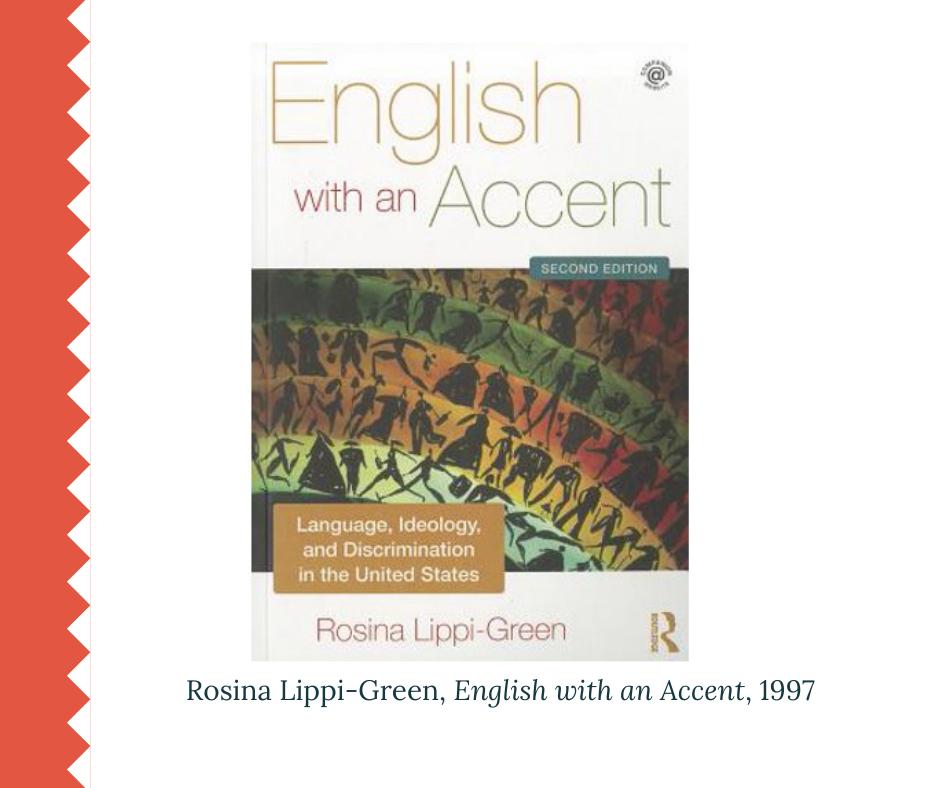Le mythe du non-accent : accentisme classisme racisme Rosina Lippi-Green