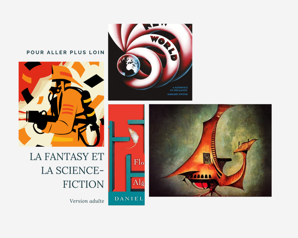 Lire en anglais pour progresser : suggestions science-fiction et fantasy